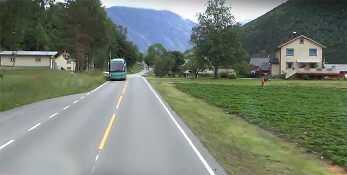 Bussulykke i Valldal